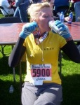 First Half Marathon - Cleveland, May '09