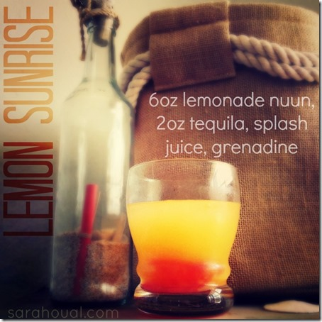 lemon sunrise