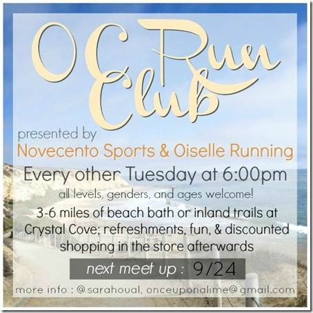 OC Run Club 9-24