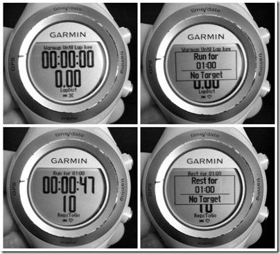 Garmin Interval Workout2