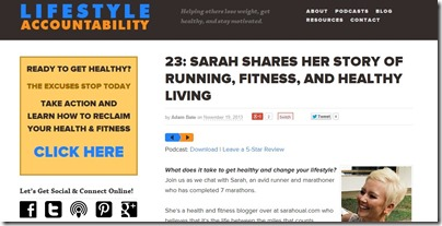 lifestyle accountability show