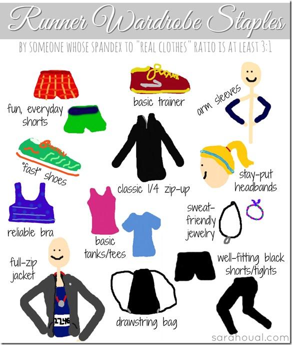 runner wardrobe staples