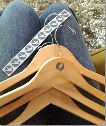 oiselle hangers