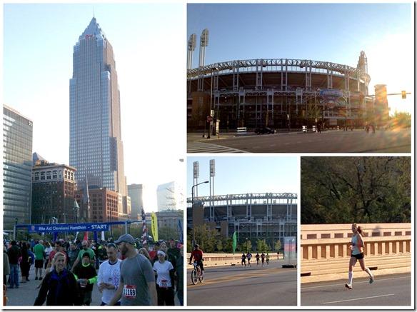 cleveland marathon start