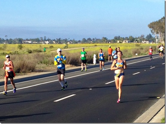 oc half marathon winner allison delancy oiselle