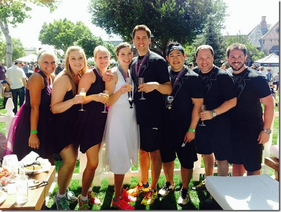 oiselle wedding santa barbara wine half 3