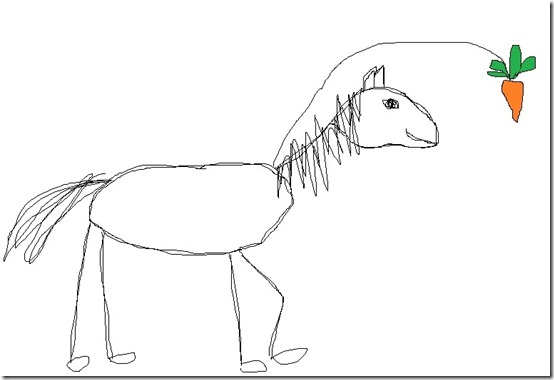 horse carrot