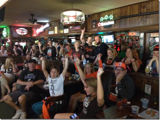 socal browns backers patricks pub