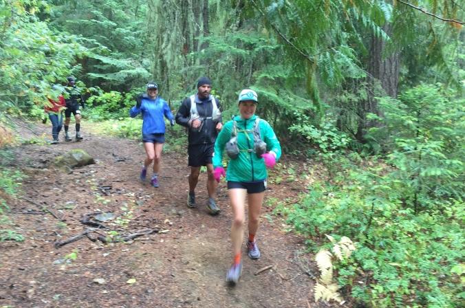Cascade crest crew running in last four miles